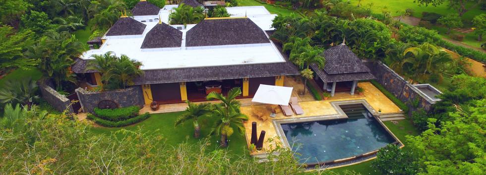 Vue aérienne Villa à vendre