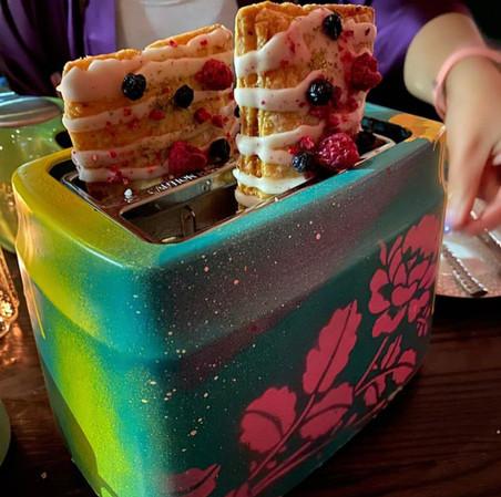 Six West embellished toasters