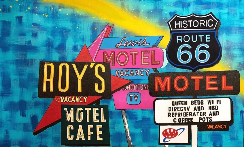 Backyard Bettys route 66