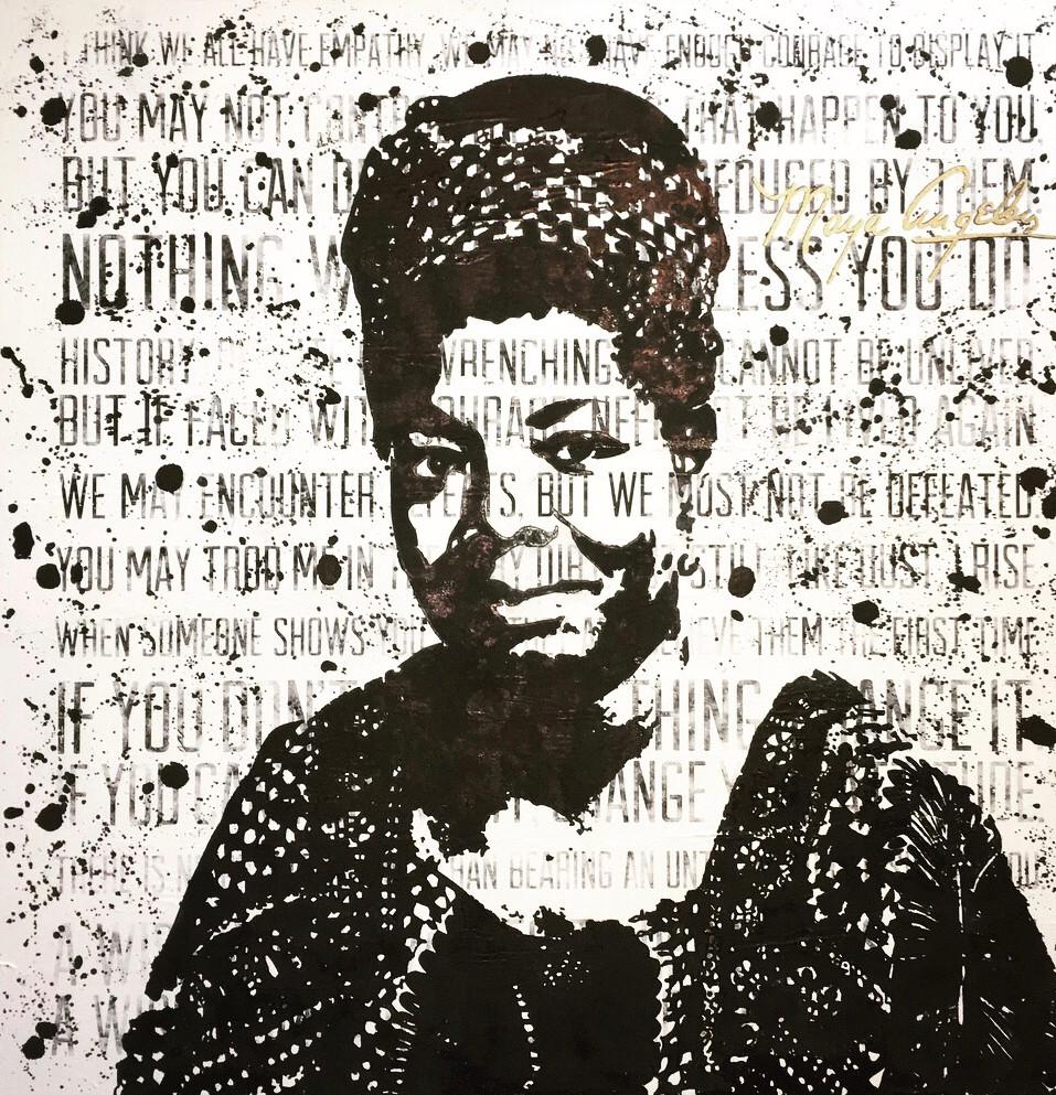 Everybody Fights NYC Maya Angelou