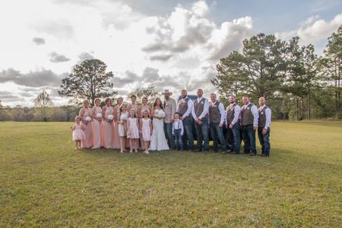 Melissa and John South Laurel Farm Wedding, Baker Florida Rustic Venue