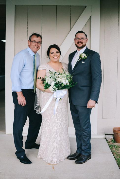 Mr. + Mrs. Watson      March 2018 at South Laurel Farm