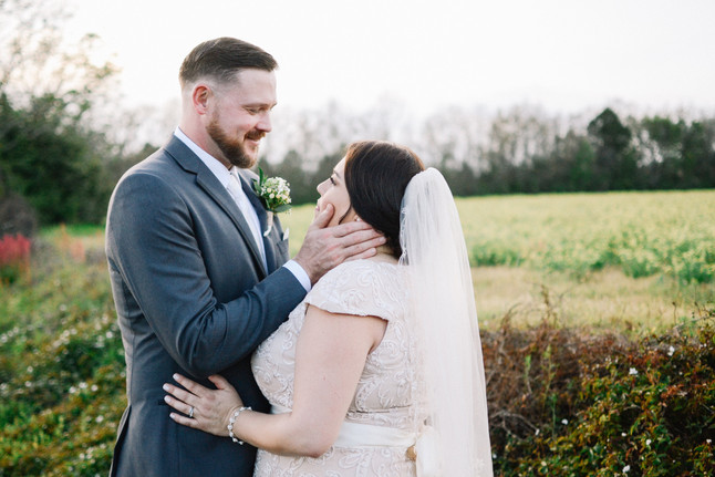 Mr. + Mrs. Watson      March 2018 at South Laurel Farm