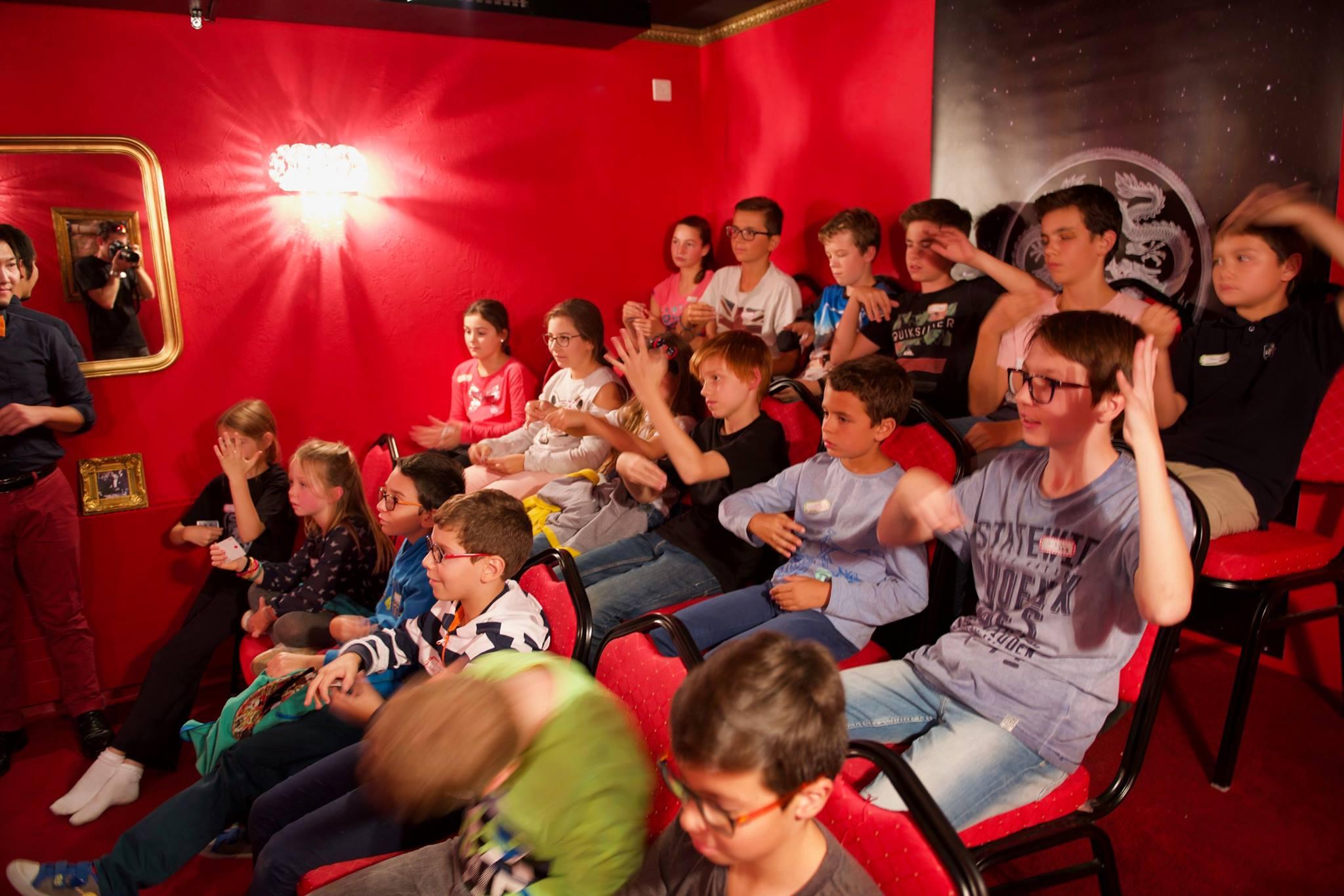 Petit Theatre CMC avec élèves