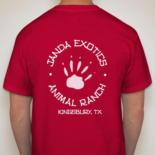 Logo T-Shirt Janda Exotic Animal Ranch