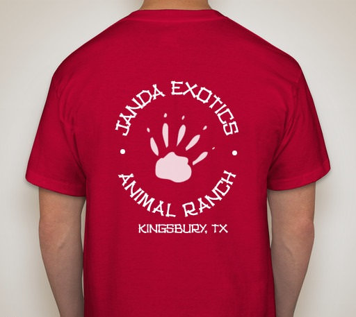 Logo T-Shirt Janda Exotic Animal Ranch