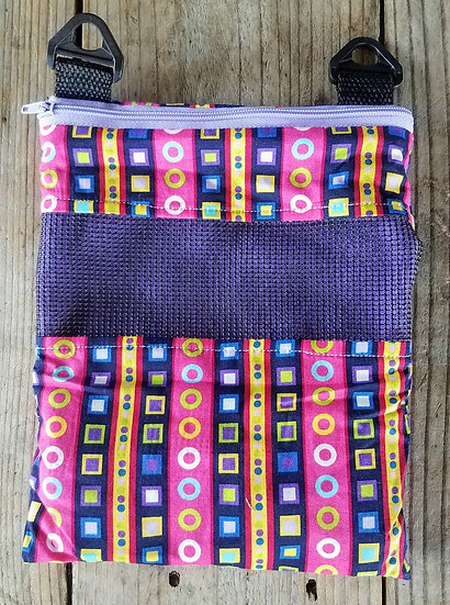 Small Animal Bonding Pouch - Patterned