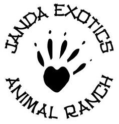 Janda Exotics Animal ranch logo