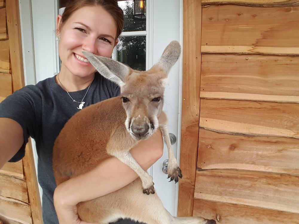 Ruby the Kangaroo and Ashley