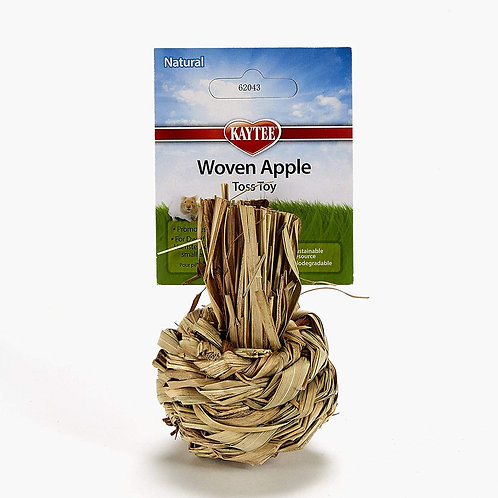 Woven Apple Toss Toy