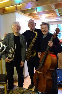 Bill Hunt, Nick Pentelow, Hugh McDowell