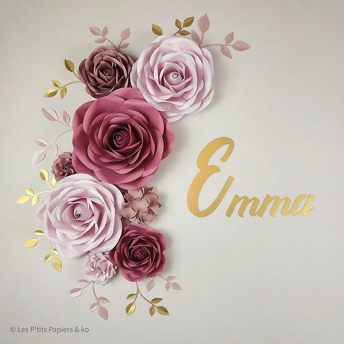 Composition Emma (Partie Gauche)