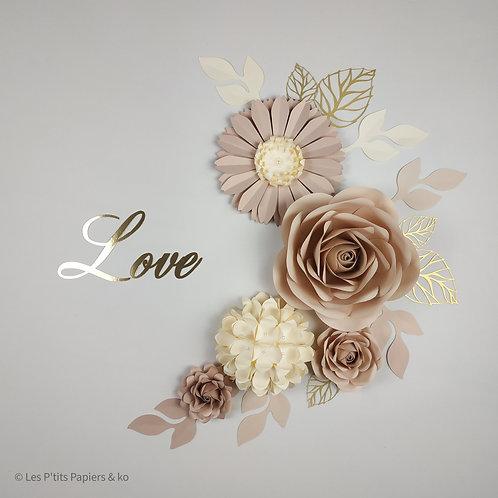 Composition Love beige