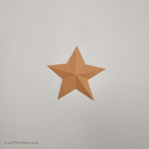 Lot 5 étoiles (9 cm)