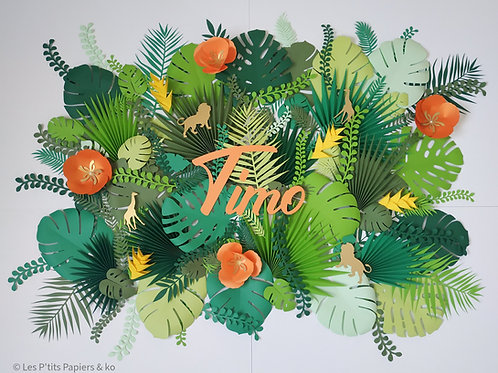 Composition La Jungle deTimo