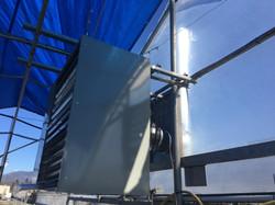 unit heater install 1
