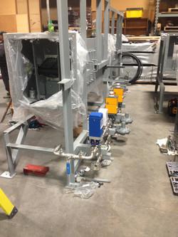 Make up Air unit build 1