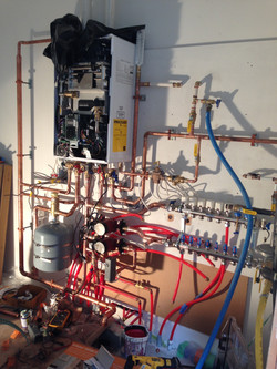 Installation of a Combi Boiler