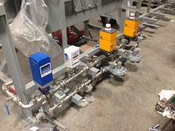 Make Up Air Unit Fuel train