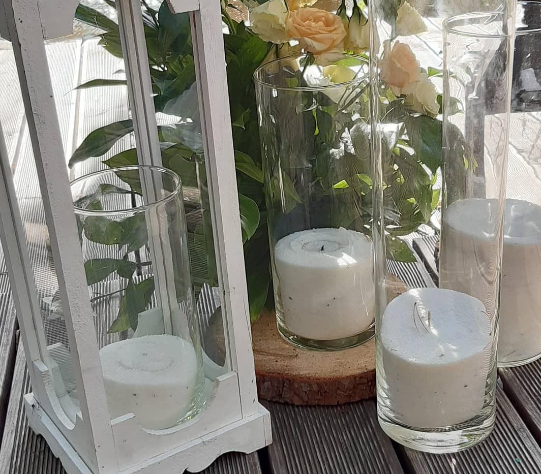 Свадебные насыпные свечи Киев