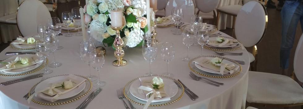 Украшение гостевых столов  Киев