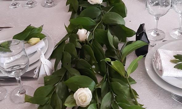 0-Украшение гостевых столов на свадьбу Киев