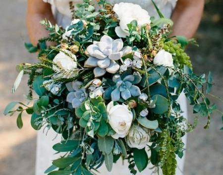 Свадебный букет в Киеве в лесном стиле