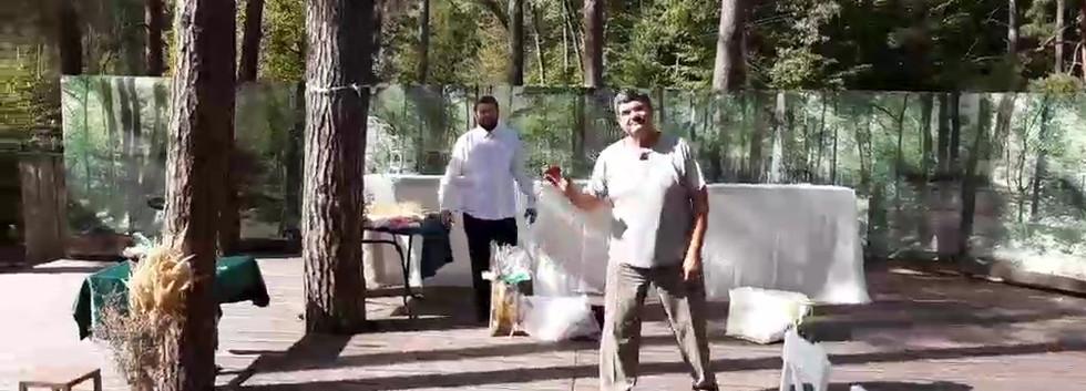 Организация свадьбы под ключ в лесном стиле Киев