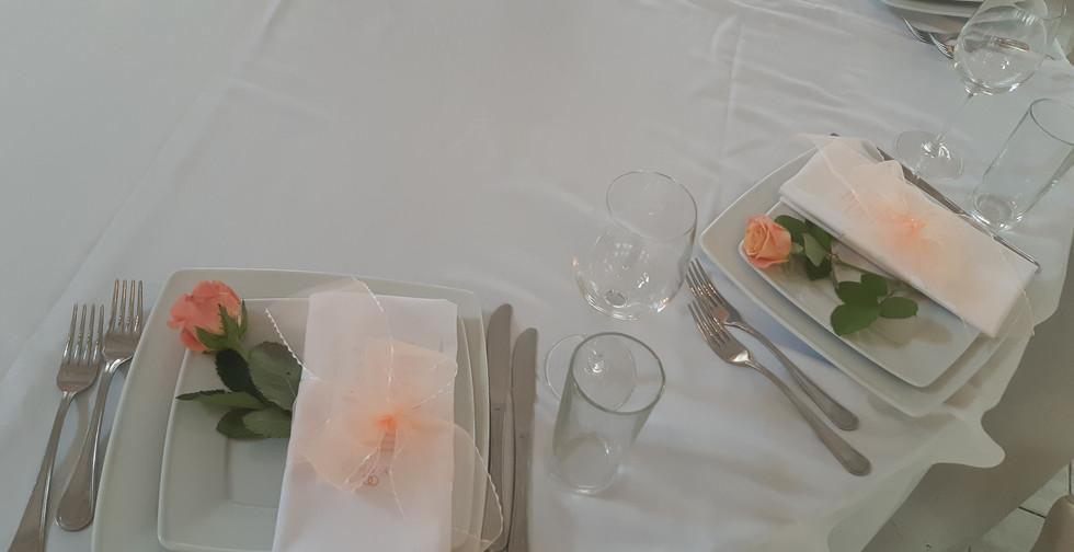 Украшение гостевых столов в Киеве