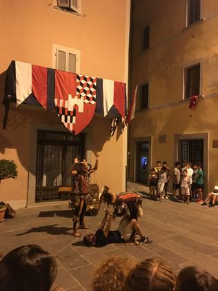 Santa Spina Festa, Montone.