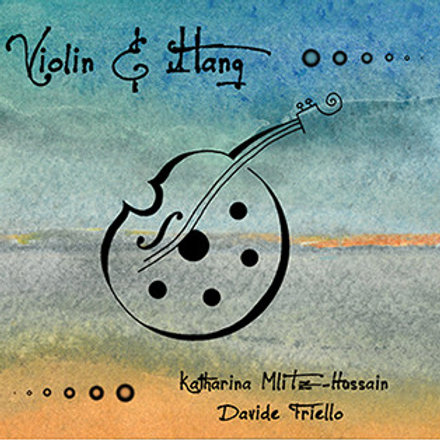 "CD ""Violin & Hang"""