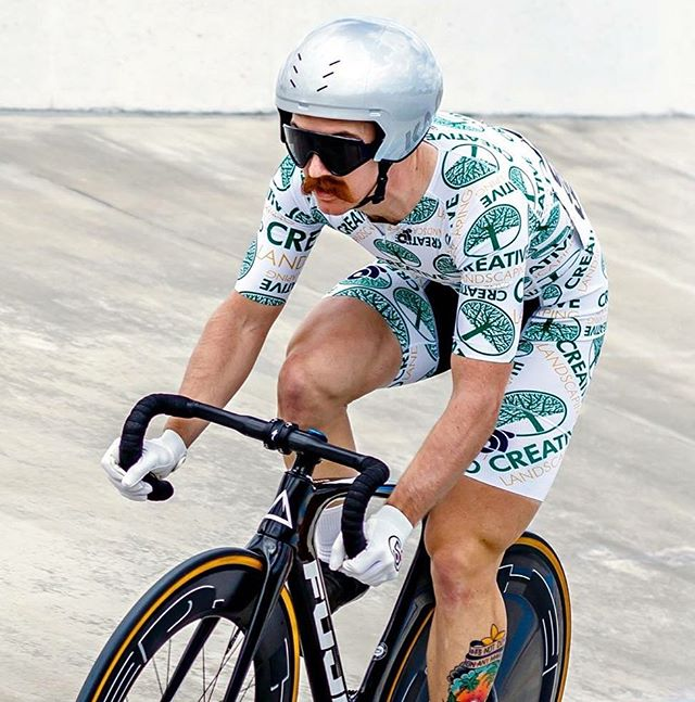 Florida state track championships. Epic weekend. Won kilo, individual pursuit, scratch, and points r