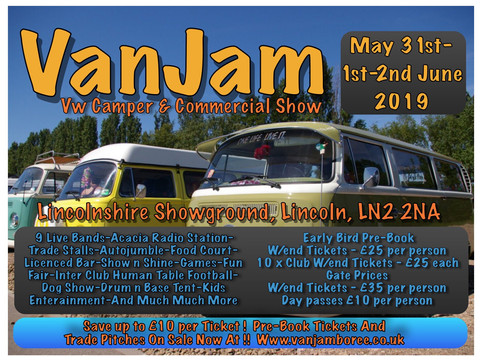 We're playing live at VanJam 2019