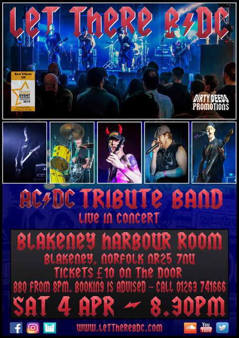 Blakeney Harbour Room - Sat 4 Apr 2020