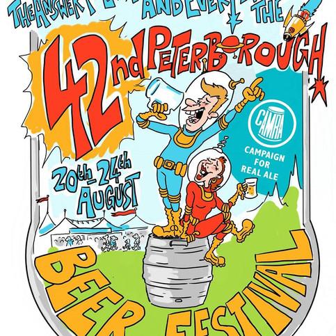 Peterborough Beer Fest 2019 - Friday 23rd August Headliner