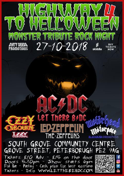 HIGHWAY TO HELL'OWEEN 4 - Monster Tribute Rock Night - 27/10/2018