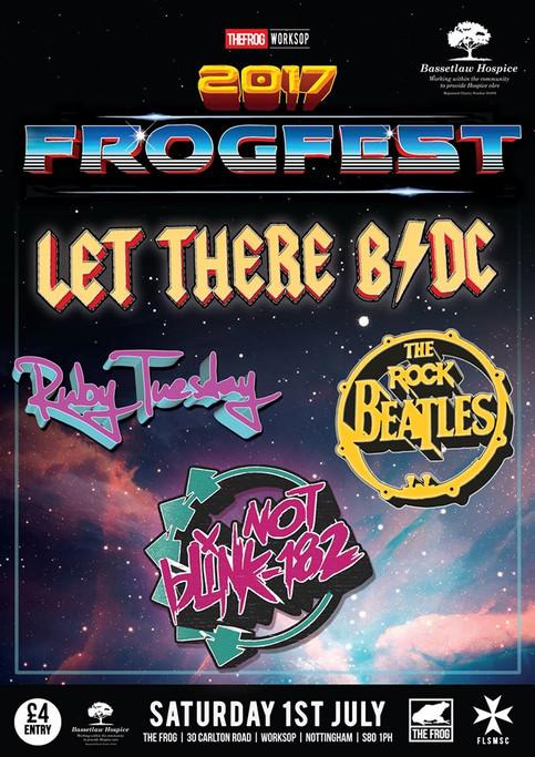 'FrogFest 2017' Headlining