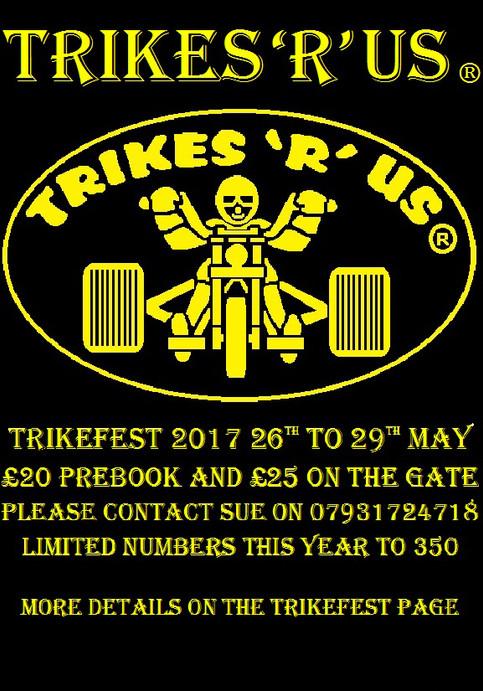 'TRIKEFEST 2017' Headlining