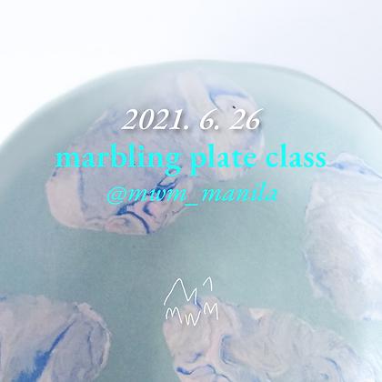 Marbling Plate | June 26 (AM)