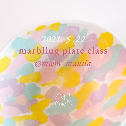 Marbling Plate | May 22