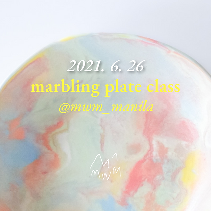 Marbling Plate | June 26