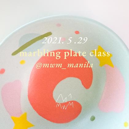 Marbling Plate | May 29