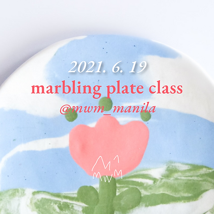 Marbling Plate   June 19 (AM)