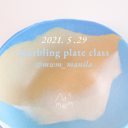 Marbling Plate | May 29 (AM)