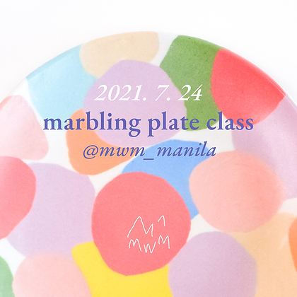 Marbling Plate | July 24