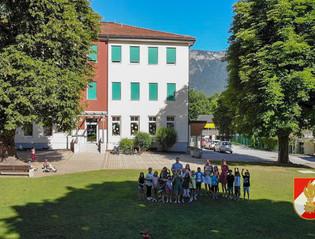 Feuerwehrunterricht an der Volksschule Kirchbichl