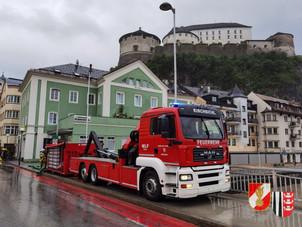 17.& 18.07.2021 - Großschadensereignis durch Hochwasser im Tiroler Unterland