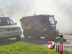 01.06.2021 - Ölaustritt aus einem landwirtschaftlichen Fahrzeug