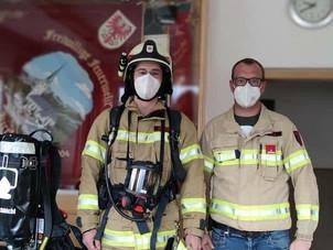 Neue Atemschutzgeräte eingetroffen!