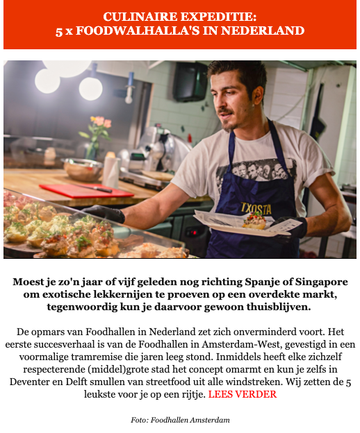 Culinaire Expeditie Eat2Gather De leukste Foodhallen van Nederland